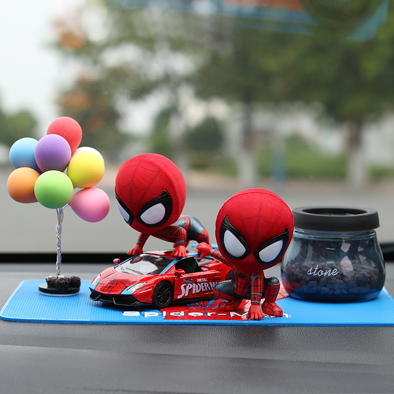 Ab+ Red Sports Car + Color Balloon + Zeolite Perfume  To Send Anti-slip Mat _ Spider