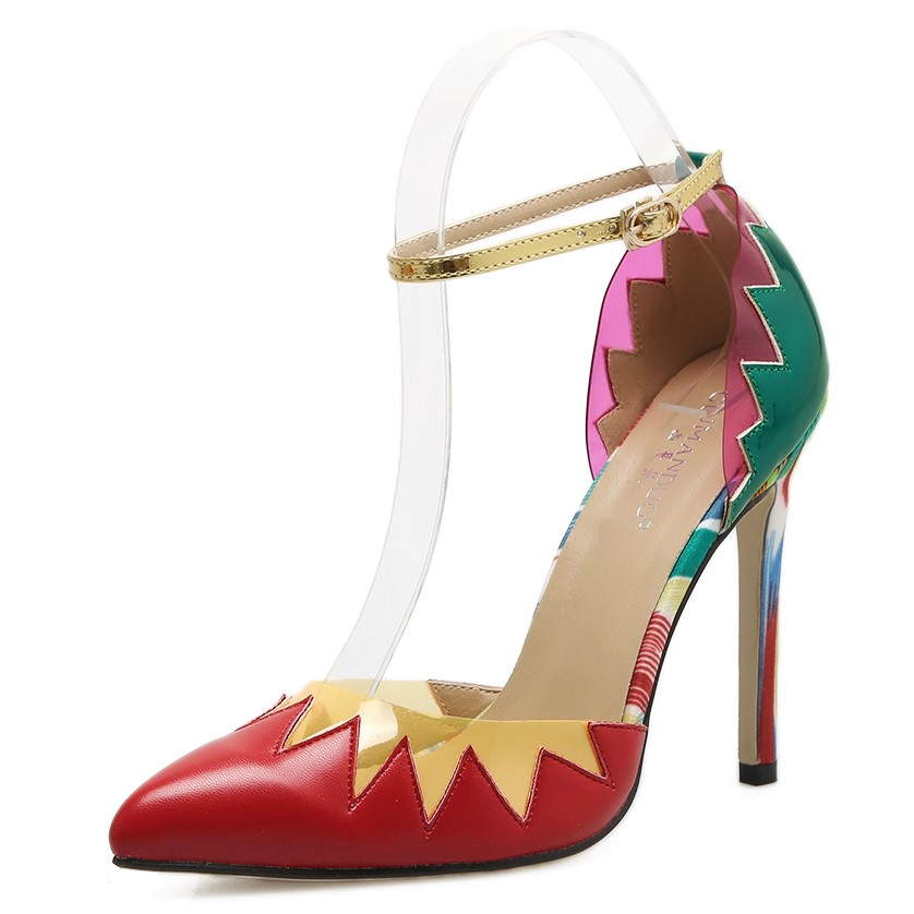 Colorful Pointed toe Stilettos's main photo