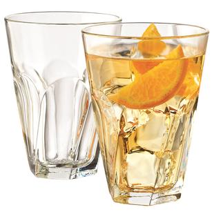 2支利比玻璃杯沙冰奶茶杯果汁杯啤酒杯水杯