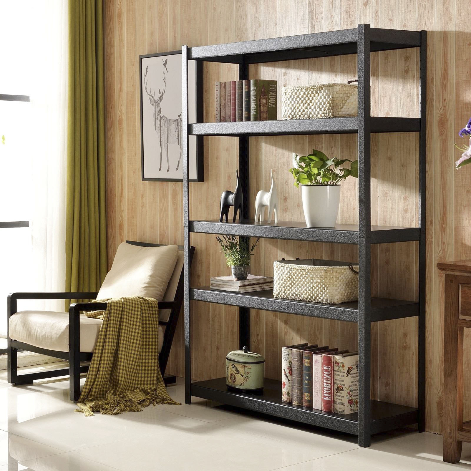 organization rack for photos ski gallery shelving storage denver garage ideas