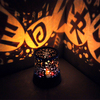 Creative fantasy romantic starry sky rotating star projector bedroom starry night sky led sleep night light