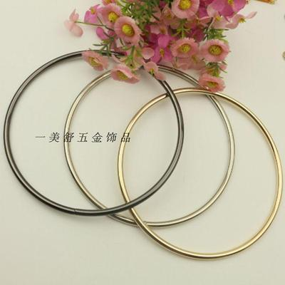15cm Inner diameter Metal Circle Accessories Handle Hardware Accessories Bag Accessories Light Gold Bag Handle Handle