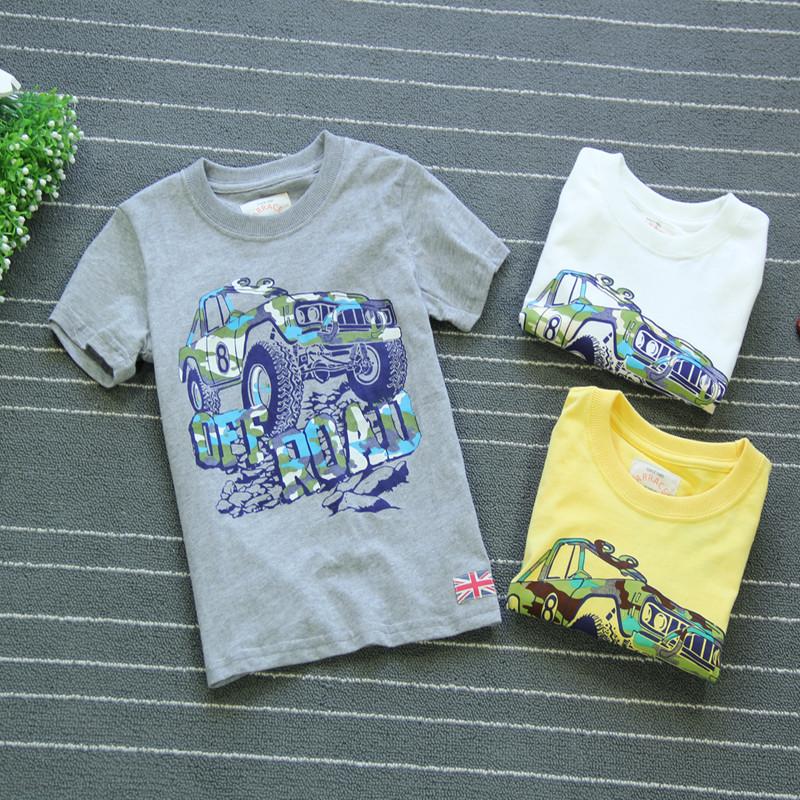 夏季潮男童t恤短袖儿童包邮短袖t恤中大童纯棉体恤半袖上衣潮童装