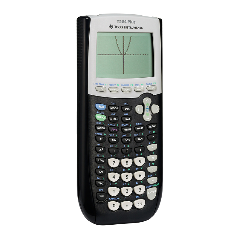 Genuine Texas Instruments TI-84 PLUS graphing calculator SAT AP exam  recommended ti84 drawing computer SF