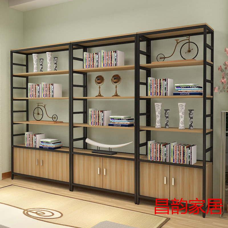 With Door Display Cabinet Display Cabinet Sample Cabinet Partition Bookcase  Shelf Display Rack Commodity Rack Adjustment ...