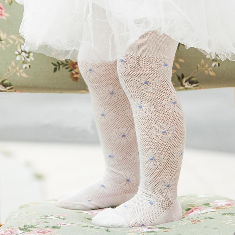 【拍3免1】薄款婴儿棉质连裤网袜0-3岁-优惠券5元天猫包邮