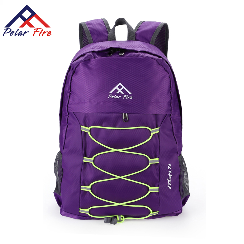 Polar Fire Hiking Shoulder Bag Men's and Women's Sports Outdoor Mountaineering Pack Leisure Backpack Student Large Capacity Bag