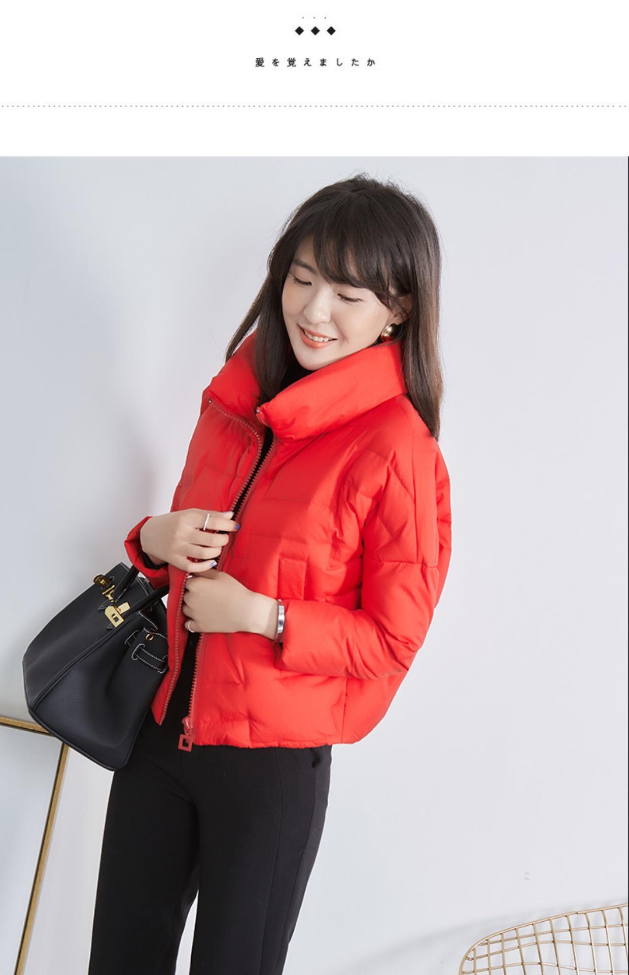 高仿巴宝莉Burberry2017新款韩版冬季外套时尚加厚面包服GDX495 第26张