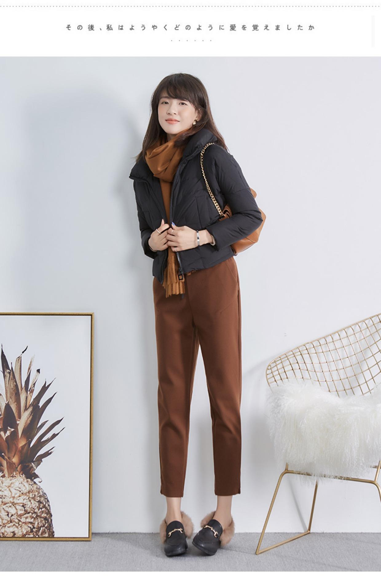高仿巴宝莉Burberry2017新款韩版冬季外套时尚加厚面包服GDX495 第25张