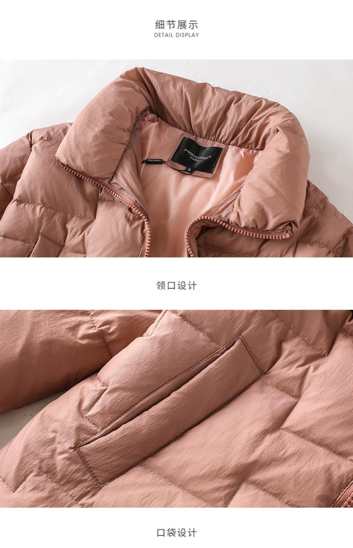 高仿巴宝莉Burberry2017新款韩版冬季外套时尚加厚面包服GDX495 第32张
