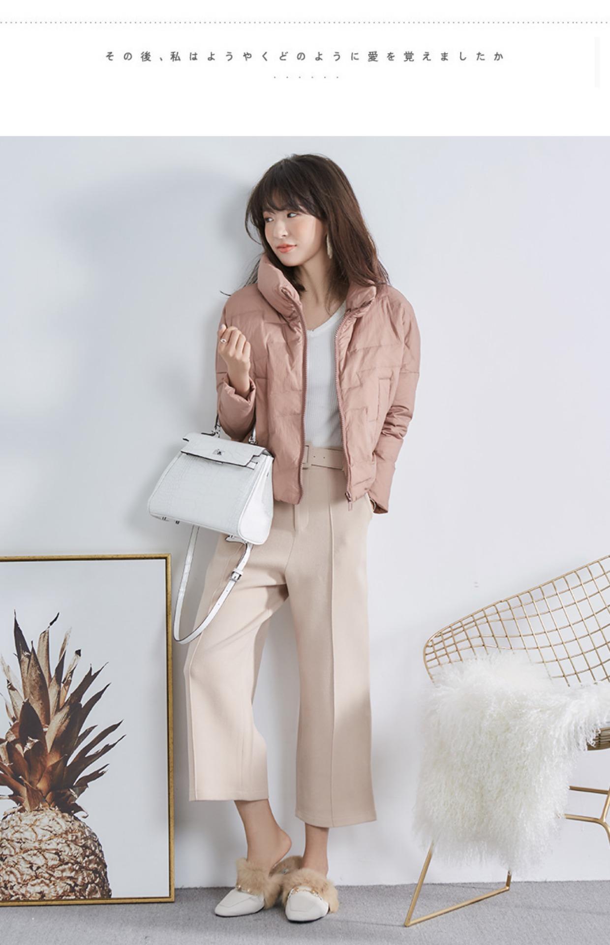 高仿巴宝莉Burberry2017新款韩版冬季外套时尚加厚面包服GDX495 第13张