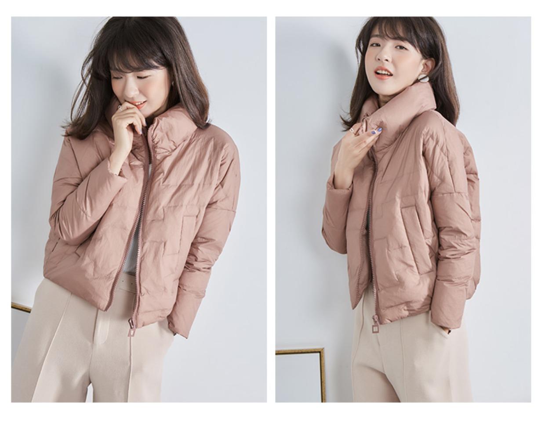 高仿巴宝莉Burberry2017新款韩版冬季外套时尚加厚面包服GDX495 第11张