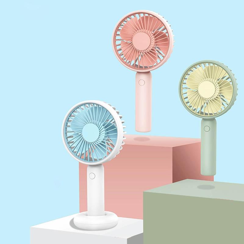 手持小风扇usb随身充电学生宿舍床上静音小型可爱便携式桌面电扇