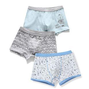 儿童内裤男童平角四角裤宝宝短裤