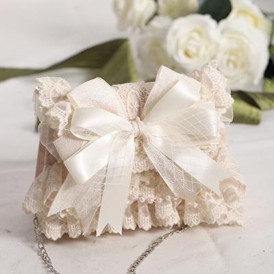 taobao agent Gentle bag new 2021 net red generation color pink big bow elegant lolita female bag original
