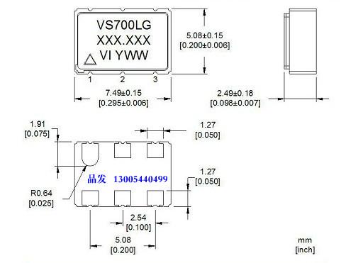 Standard Clock Oscillators MEMS Oscillator Low Power,-20 to 70C,50ppm DSC1001AE1-055.0000 Pack of 25