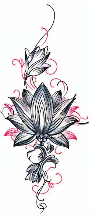 c5673a07d lightbox moreview · lightbox moreview. PrevNext. Tattoo stickers waterproof  female long-lasting sexy Lotus Lotus scar cesarean arm stickers back ...