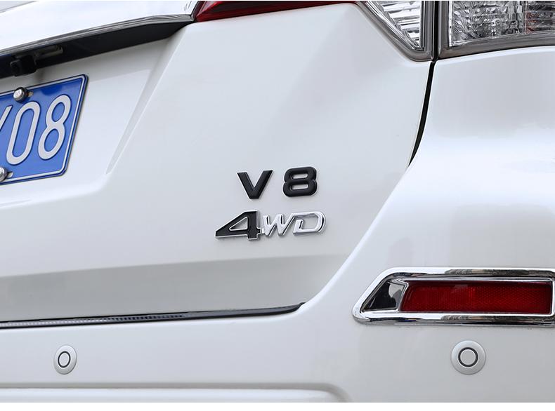 Chữ trang trí đuôi xe 4WD, V6, V8 , smm  NISSAN TERRA - ảnh 33
