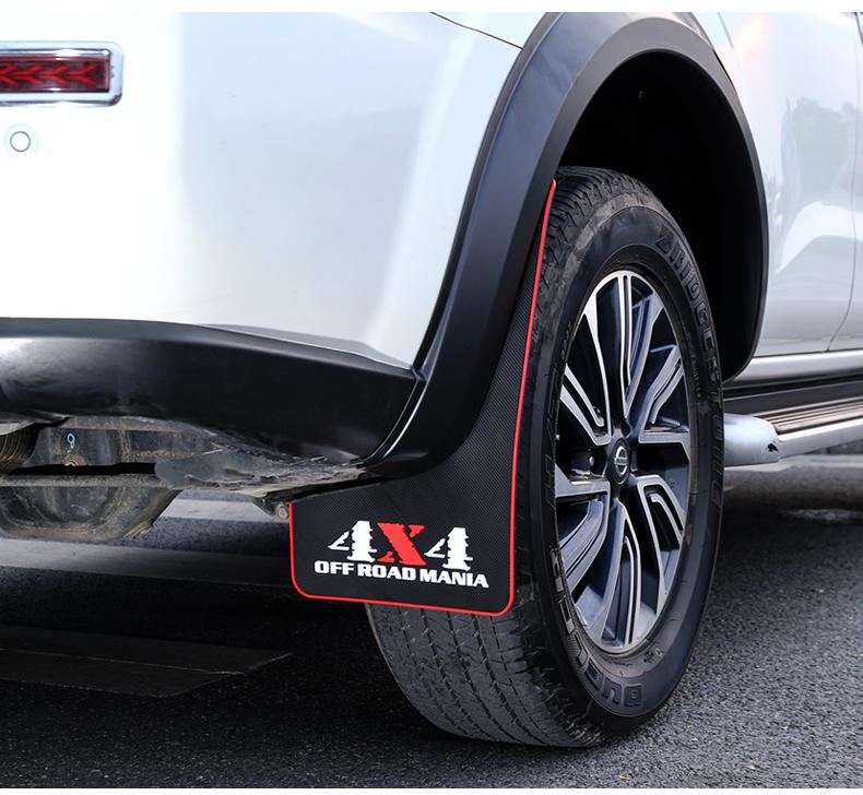 Chắn bùn bánh xe  cao su mềm Nissan Terra 2018 - 2020 - ảnh 14