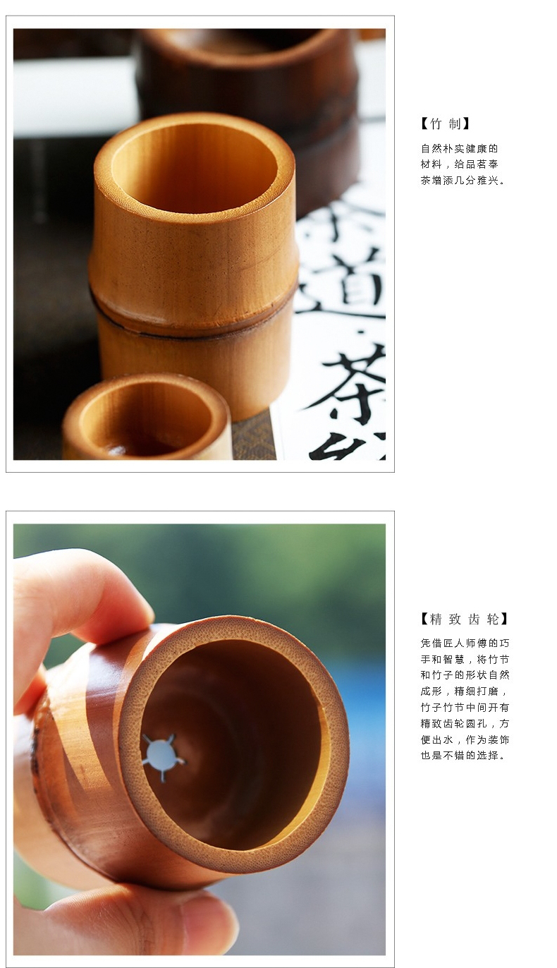 The three frequently checking bamboo cover set are it tureen tea pot lid stent S05039 spare parts of iron