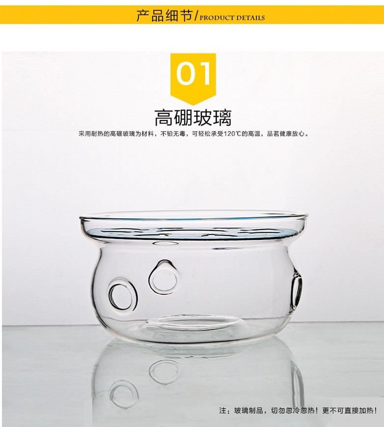 Three frequently hall tea glass teapot holding furnace based tea warmers lukewarm tea stove S04040 stainless steel heating base