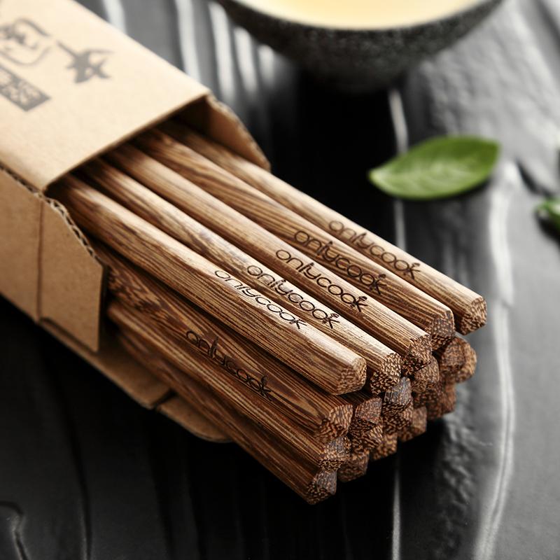 Только купили домашние палочки для куриного крыла без краска без воск высококачественный Деревянные палочки для еды деревянные десять пар бесплатная доставка по китаю комплект
