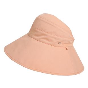 Fancet 空顶防晒帽女夏防紫外线大檐遮脸出游太阳帽可折叠遮阳帽