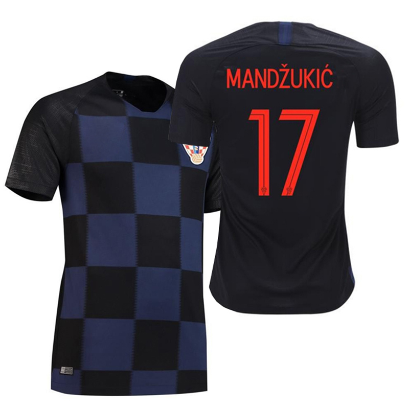 577c5ff970f Croatia jersey 2018 national team football Suit Suit male adult ...