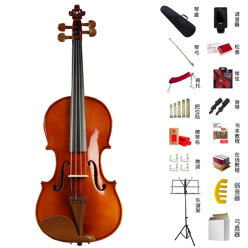 STANDARD + GIVEAWAY + MUTE + BOW STRAIGHTENER + SMALL MUSIC STAND