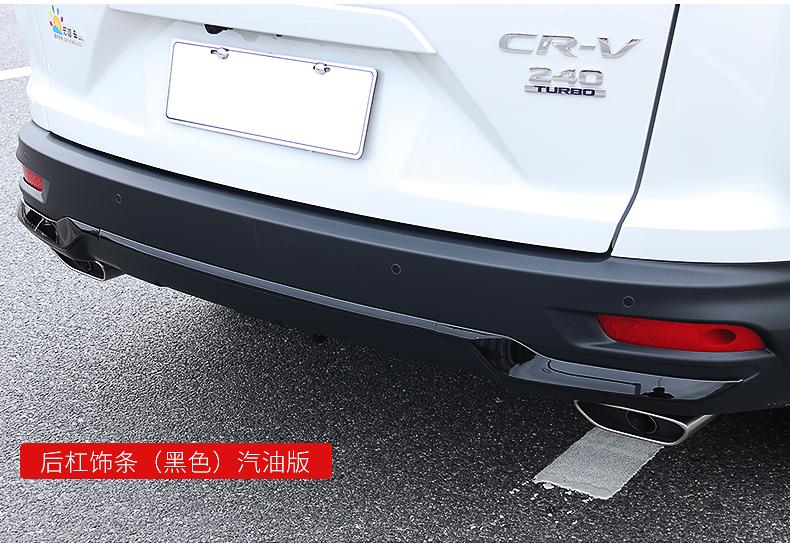 Ốp trang đuôi xe , ốp đèn sương mù  sau CRV 2021 - ảnh 16