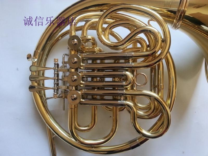 Рог музыкальный Двухместный люкс бутик Французский Рога Рога прямые оркестров четыре ключевых завод специализируется
