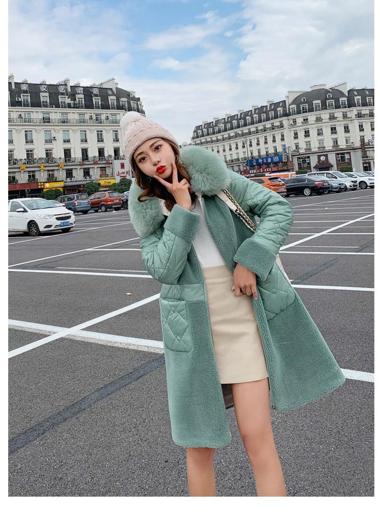 Deep degree 2020 autumn dress new large size women's autumn fashion luxury fur all-in-one jacket 9V9 51 Online shopping Bangladesh