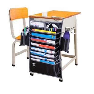 多功能挂书袋大容量多功能课桌收纳神器