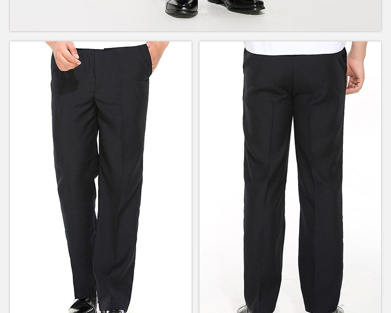 An ninh đồng phục mùa hè quần nam mùa hè màu đen phần mỏng tài sản an ninh khách sạn mùa xuân và mùa thu làm việc quần phù hợp với mùa đông quần