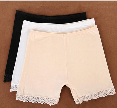 Non-crimped security modal cotton pants anti-light women's summer shorts 18-24 years old 25-29 students