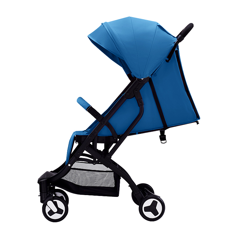 Baby stroller can be seated light folding baby sunshade can be disassembled cushion four-wheel shock absorber infant umbrella car