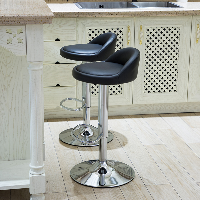 Official Website Bar Stool Home High Stool Lift Bar Chair Modern Minimalist High Stool Cashier Chair Bar Table And Chair Increased Chassis Design Bar Chairs