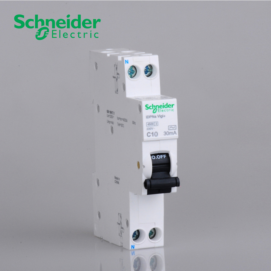 USD 37.53] Schneider air switch with leakage protection 1P Air ...