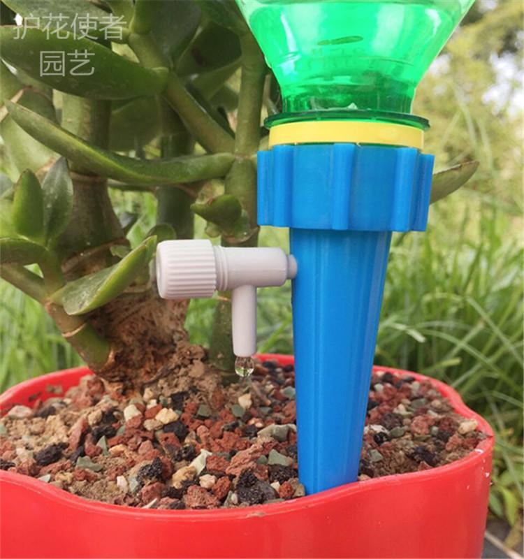 可调自动浇花器懒人滴水器盆栽卉渗水器创意家用出差旅游养花神器详细照片