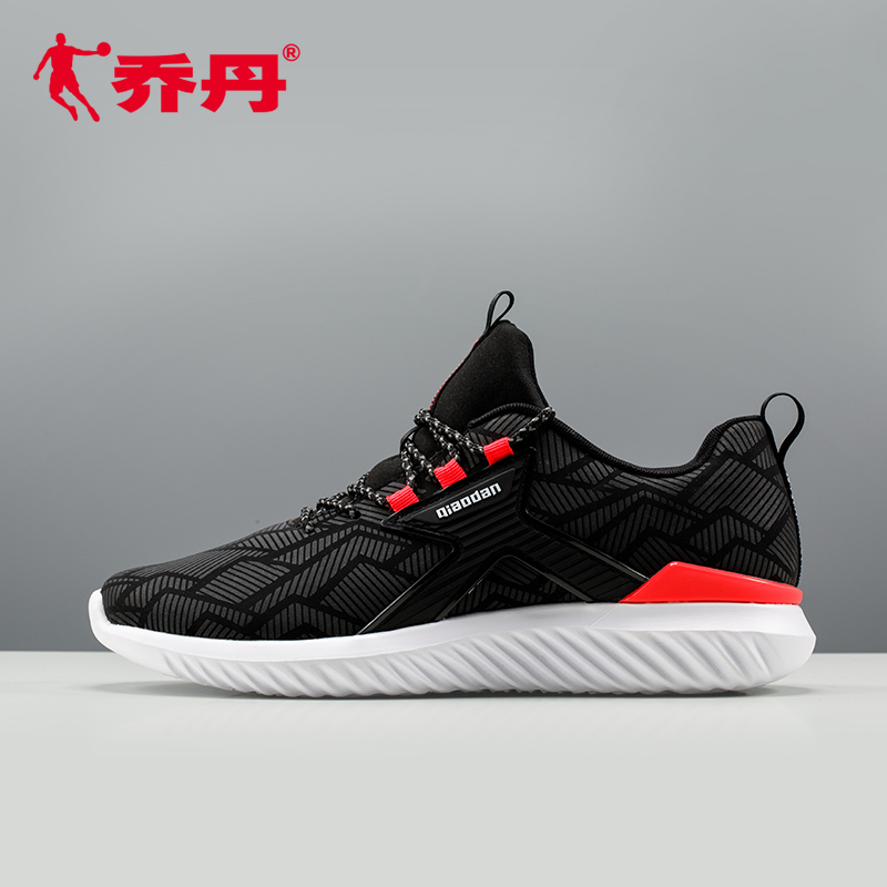 Jordan running shoes 2018 spring new running shoes men's sports shoes casual breathable leather sports shoes men