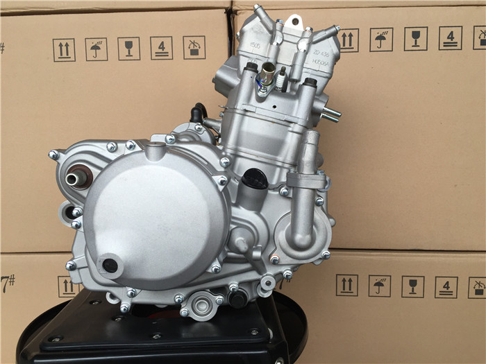Zongshen NC250 Water Cooled Engine Assembly Zhenglin NC 5 Gear Huayang T6  Exx Engine Assembly