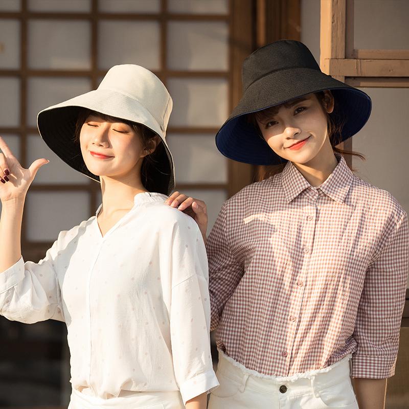 【旗舰店】帽子女韩版潮渔夫帽女防紫外线