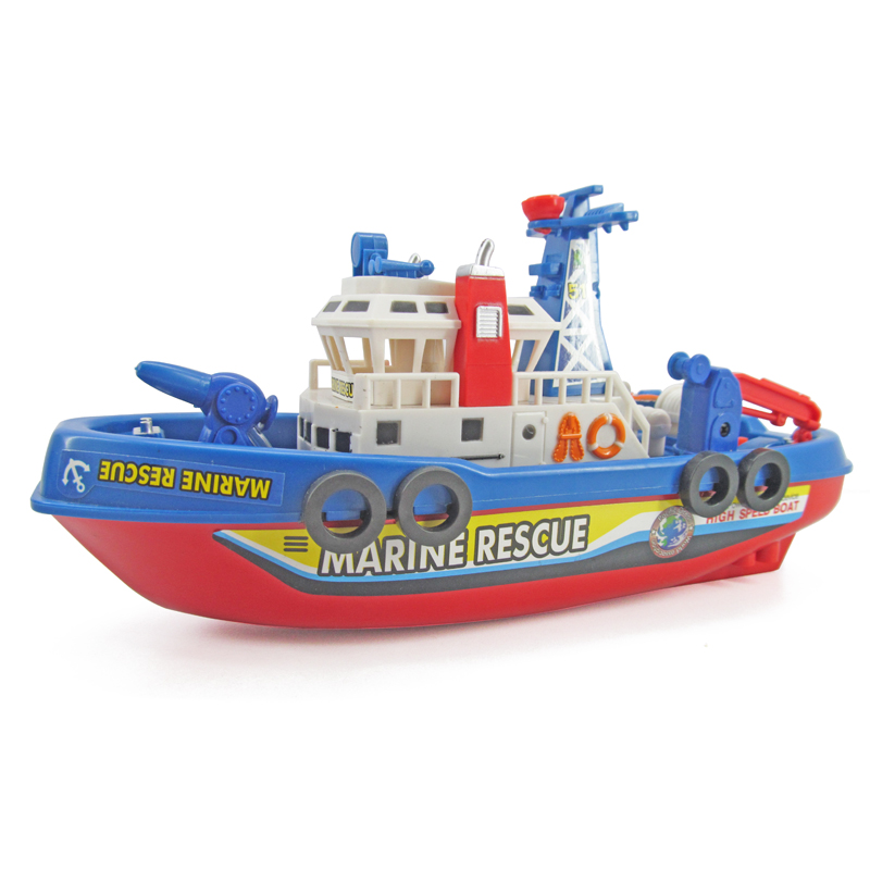 Will spray water electric sea fire boat simulation model ship ...