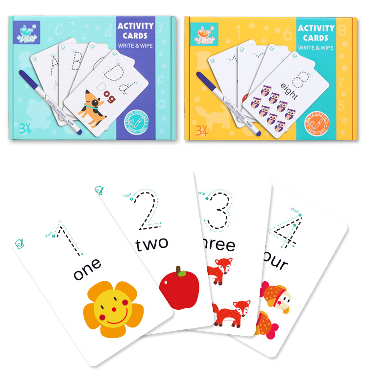 English alphabet flashcards flashcards English 26 handwriting practice  numbers early childhood cognitive enlightenment words