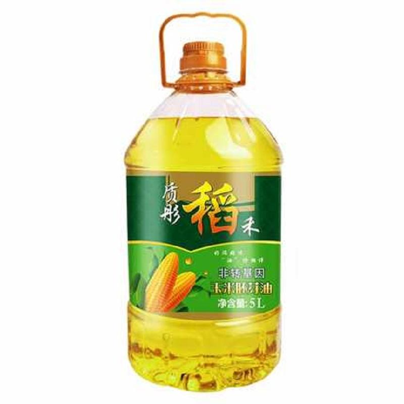质彤稻禾非转基因玉米油5L