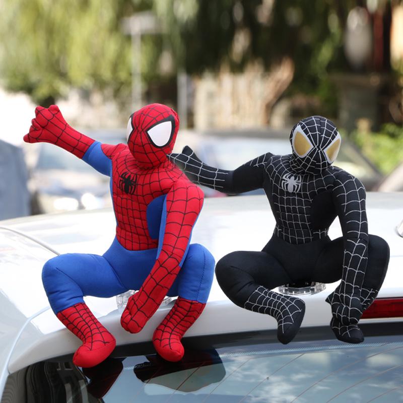汽车外饰品车顶玩偶装饰蜘蛛侠车饰品蜘蛛侠公仔外部摆件