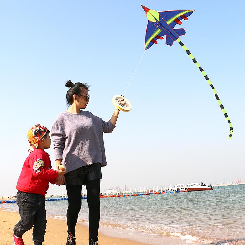 飛機風箏戰斗機風箏兒童卡通風箏濰坊恒江風箏新款風箏線輪