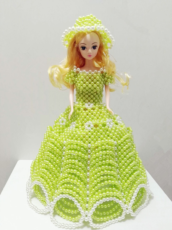 FRUIT GREEN + WHITE BARBIE MATERIAL PACK