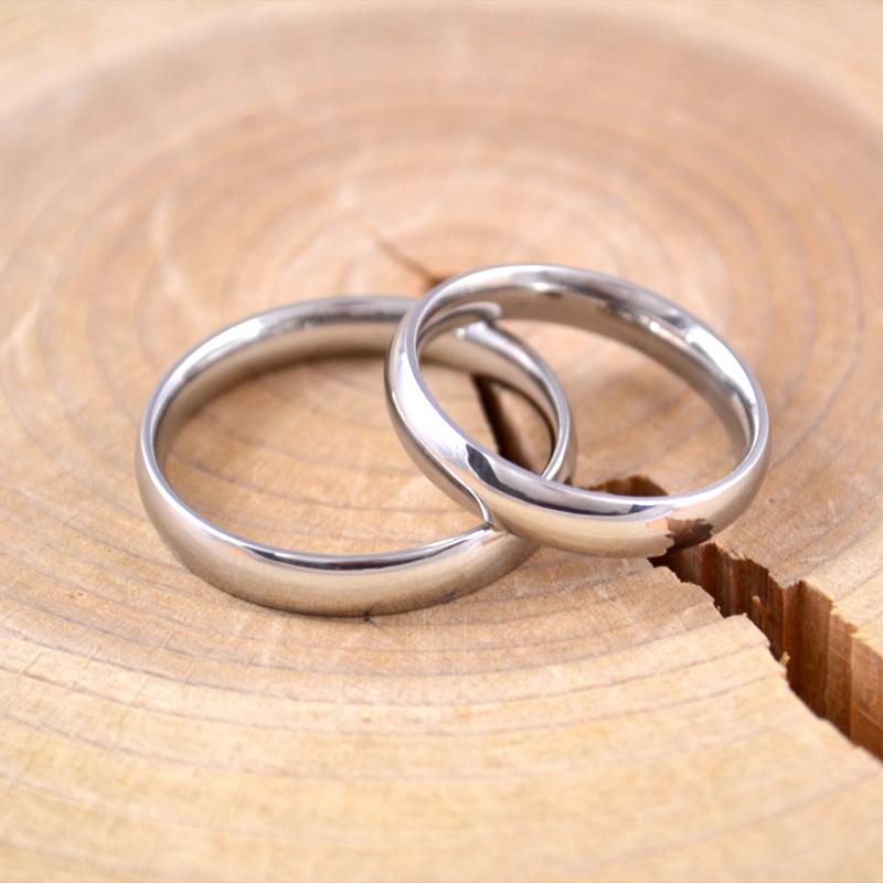 男士戒指钛钢韩版光板戒指环个性霸气单身食指潮男指环潮光面简约