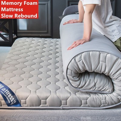 Memory Foam Mattress Slow Rebound Tatami King Queen Full Mattress